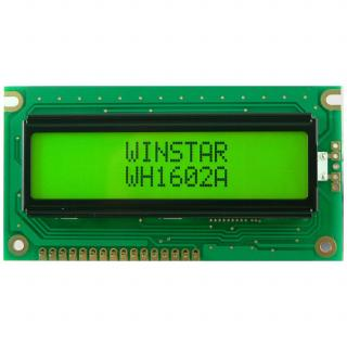 LCD WH1602A-YGH-CTK WINSTAR  дисплей