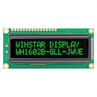 LCD WH1602B-GLL-CWVE VATN LCD  дисплей