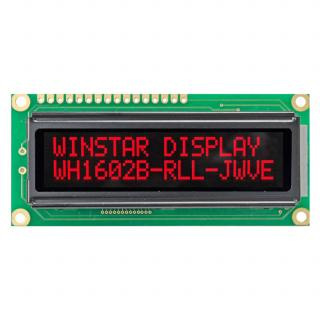 LCD WH1602B-RLL-CWVE VATN LCD  дисплей